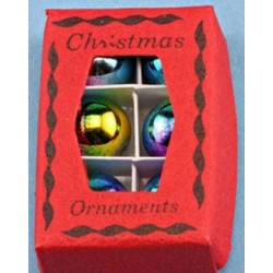 Xmas Ornaments In Box