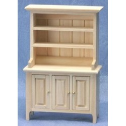 CLA08631Discontinued Classics Welsh Cabinet, Unfinished