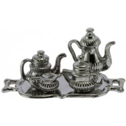 Silver Tea Set/tray