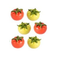 A3263 GREEN & RED TOMATOES, 6PC