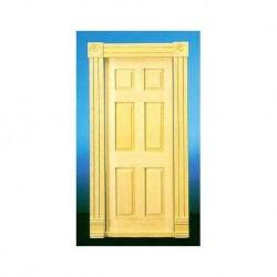 HW6025: TRAD 6-PANEL INTERIOR DOOR