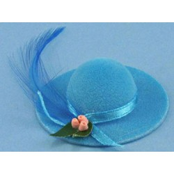 LADIES HAT W/FEATHER