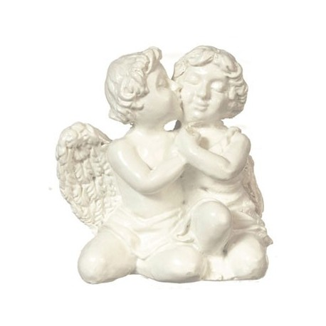 Two Cherubs, White