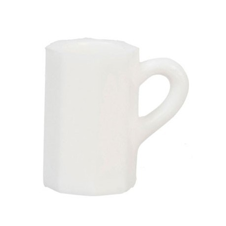 Beer Mugs, White, 12pc