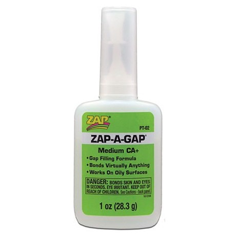 Pt-02: 1 Oz. Zap-A-Gap Ca+, 1 pc
