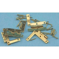 Hl Hinges W/nails, 4/pk