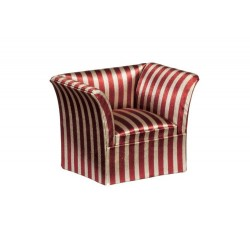 Satin & Mahogany Chair