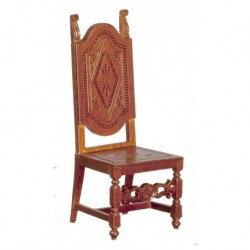 Spanish High Back Chair 17th Century