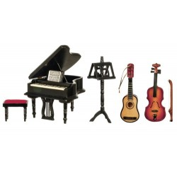 Music Room Set 5 Black