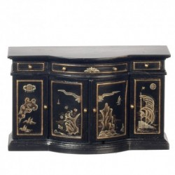 Chinese Credenza Black