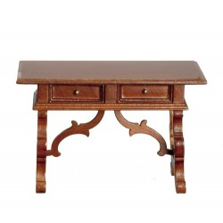 Spanish Renaissance Walnut Writing Table