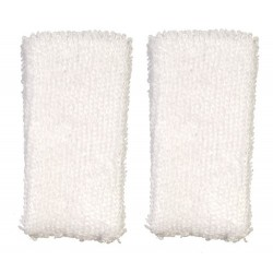 Mini Towels 2pc White