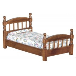 Single Bed Walnut
