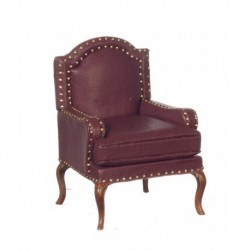 Upholstered Armchair Red