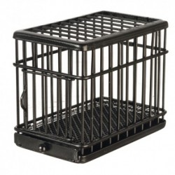 1/2in Dog Cage Black