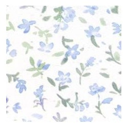 3 pack Prepasted Wallpaper: Tiny Blue Flowers