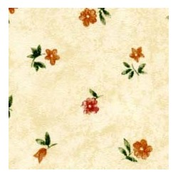 3 pack Prepasted Wallpaper: Little Pink Flowers/creme