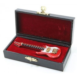 4 Inch Large Electric Guitar, Red