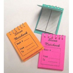 STENO NOTEBOOK 3PCS.