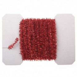 Tinsel Garland, Red
