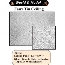 Faux Tin Ceiling Panel