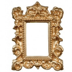 Ornate Gold Frame/1.5x2