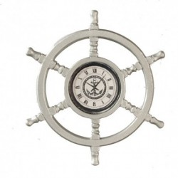 Helmsmans Wheel Clock/mat