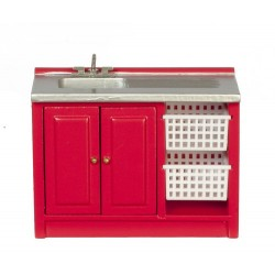 Modern Laundry Sink/red