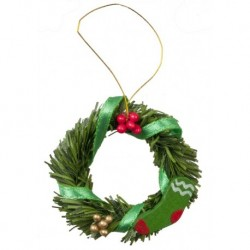 Wreath W/berries/ribbon