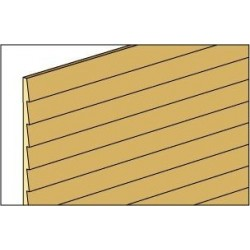Clb1236 3/8 Clapboard, 36 In