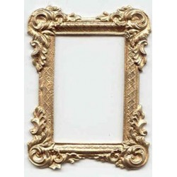 Gold Rectangle Victorian Frame