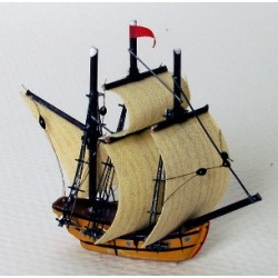 GALLEON 1-5/8 IN HEIGHT