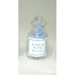 BUBBLE BATH BEADS - BLUE