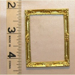 PICTURE FRAME,LG RECT, GOLD COLOR
