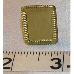 PICTURE FRAME, SM RECT TABLE, GOLD COLOR
