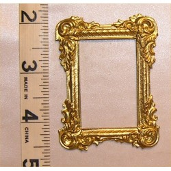 PICTURE FRAME, LG VICT RECT,GOLD COLOR