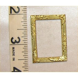 PICTURE FRAME,SM RECT, GOLD COLOR