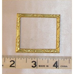 PICTURE FRAME,LG SQ, GOLD COLOR