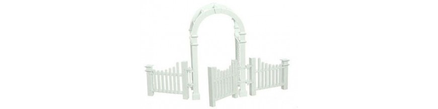 Dollhouse Fencing & Retaining Walls