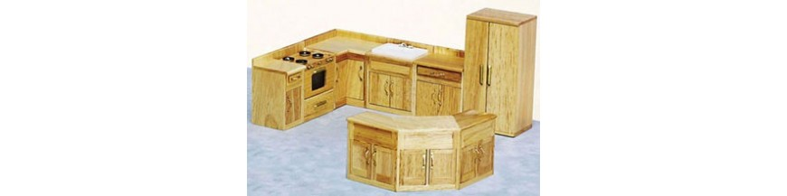 Kitchen Sets | Dollhouse Kitchen Furniture | Superior Dollhouse ...