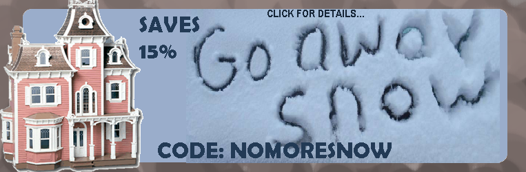 NO MORE SNOW!  15% Off Product Total